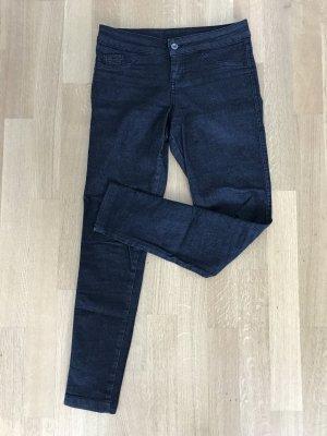 Tezenis Stretch-Jeans/Jeggins Schwarz-Grau Gr. S