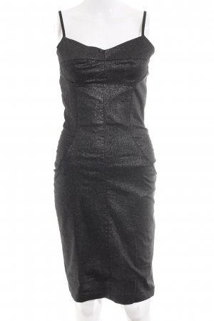TFNC A-Linien Kleid anthrazit-silberfarben Party-Look