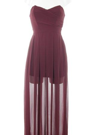 TFNC Abendkleid bordeauxrot Elegant