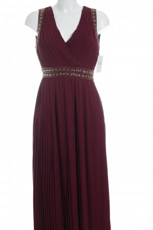 TFNC Abendkleid karminrot Elegant