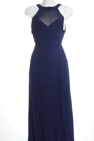 TFNC Abendkleid stahlblau Elegant
