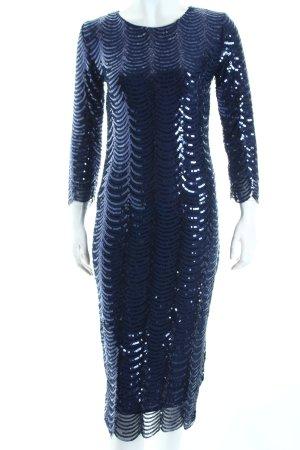 TFNC Bleistiftkleid blau Eleganz-Look