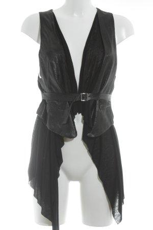 TFNC Cardigan schwarz-dunkelgrau Elegant