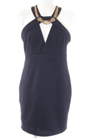 TFNC Etuikleid dunkelblau Elegant