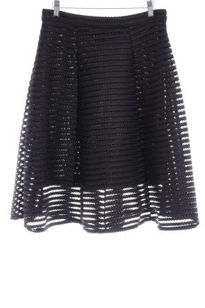 TFNC Glockenrock schwarz Ringelmuster Elegant