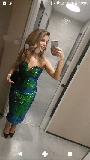 TFNC Halo Bodycon Kleid mit Pailletten