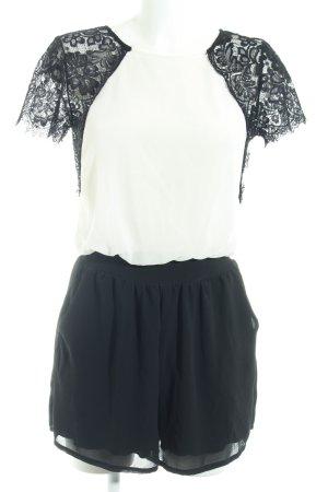 TFNC Jumpsuit schwarz-weiß Elegant