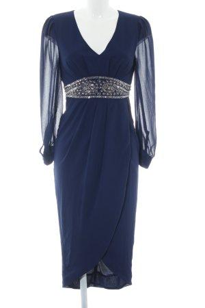TFNC Maxikleid blau Elegant