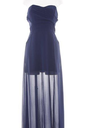 TFNC Maxikleid dunkelblau Elegant
