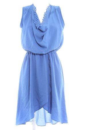 TFNC Trägerkleid blau Casual-Look