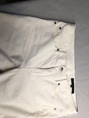 Tommy Hilfiger Pantalón de pana blanco Algodón