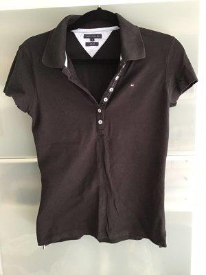 Tommy Hilfiger Camiseta tipo polo negro