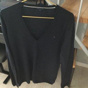Tommy Hilfiger Jersey de lana azul oscuro Lana