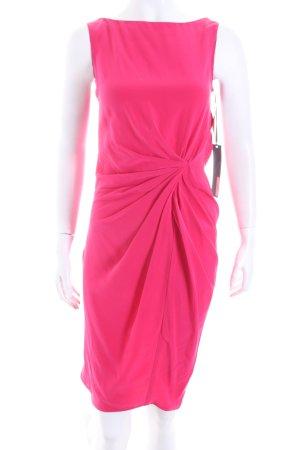Thakoon Vestido de tubo rojo frambuesa elegante