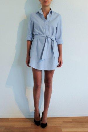 Thayer Hemdkleid blau
