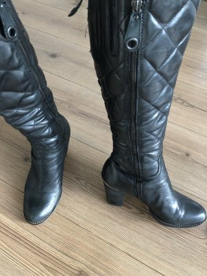THD schwarze Lederstiefel wie neu