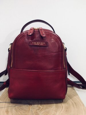 THE BRIDGE Leder Rucksack!!!