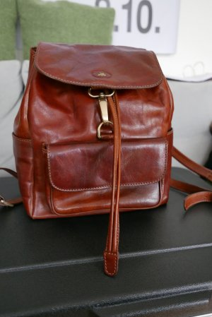 The Bridge Lederrucksack braun