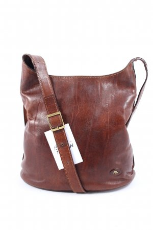 The Bridge Schultertasche braunrot Vintage-Artikel