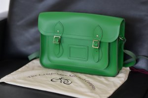 The Cambridge Satchel Company 13 Inch Grün