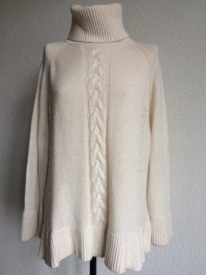 THE CCASHMERE SHOP Pullover Rollkragen 100% Cashmere, wollweiß NEU!!!