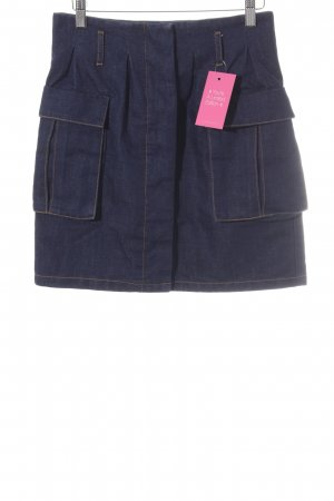 The Fifth Label Jupe en jeans bleu foncé style décontracté
