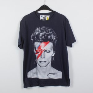 The free Banana Tshirt Gr. XL dunkelgrau David Bowie (18/12/050)