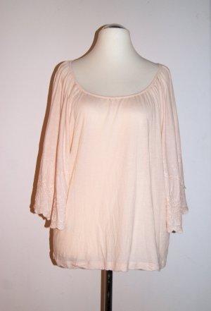 The Garden Collection by H&M Oversize Jersey-Shirt Fledermausärmel, rosé, Gr. S