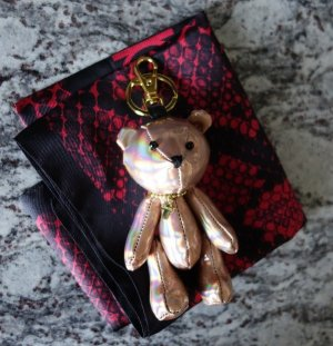 The Gazette Rad Market Blackmoral Japan Uruha Bär Bear Keychain Schlüsselanhänger J-Rock Visual Kei Ninth Tour Merchandise