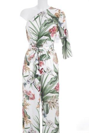 The Hackbarth's Jumpsuit florales Muster Romantik-Look