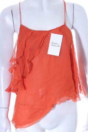 The Jetset diaries Cropped Top orange Beach-Look