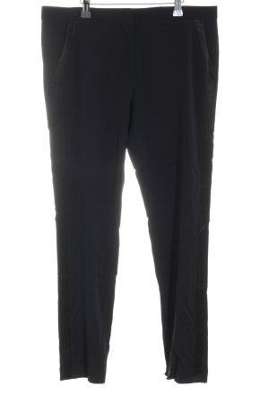 The Kooples Pantalon à pinces noir style décontracté