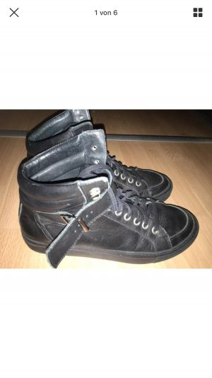 The kooples high Boots Leder gr 39 schwarz
