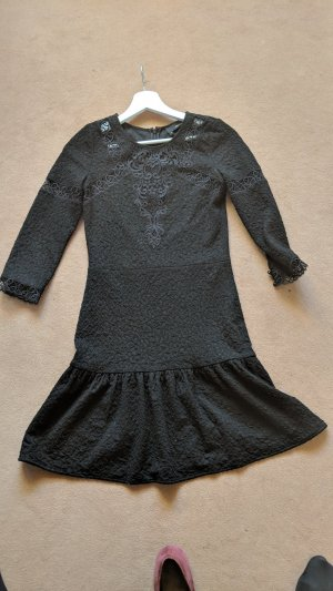 The Kooples Lace Dress black cotton