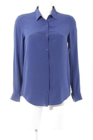 The Kooples Langarm-Bluse blau