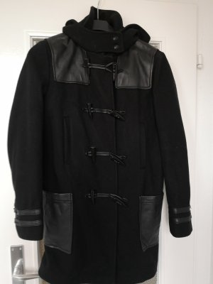 The Kooples Duffle-coat noir laine