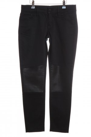 The Kooples Röhrenhose schwarz Casual-Look