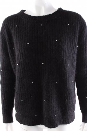 The Kooples Round Neck Sweater Silver Beads
