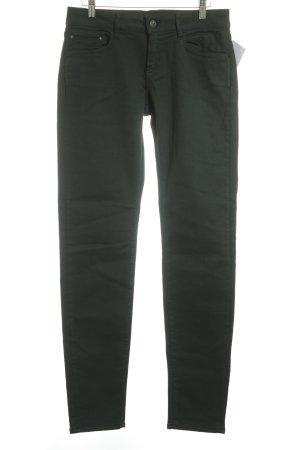 The Kooples Skinny Jeans waldgrün Casual-Look