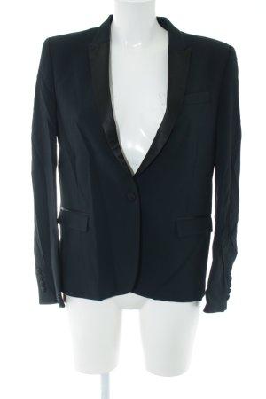 The Kooples Blazer de esmoquin negro estilo «business»