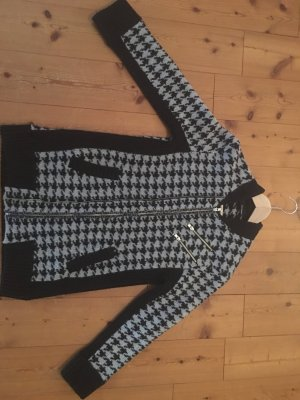 The KOOPLES Strickjacke mit Hahnentrittmuster Gr. XS