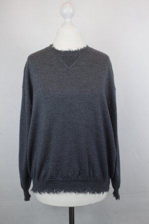 THE KOOPLES Strickpullover Pullover Gr. S grau (18/2/380/MF/R)