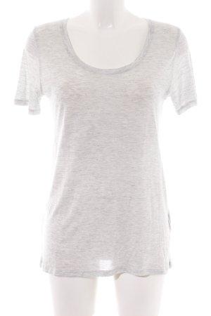 The Kooples T-Shirt hellgrau meliert schlichter Stil
