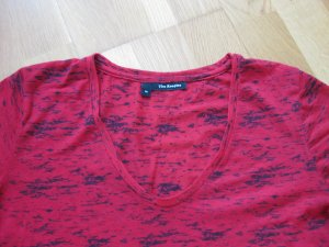 The Kooples T-shirt col en V rouge polyester