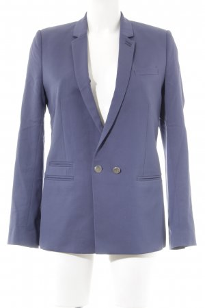 The Kooples Woll-Blazer grauviolett Business-Look
