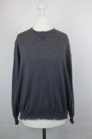THE KOOPLESS Longsleeve Pullover Gr. S grau