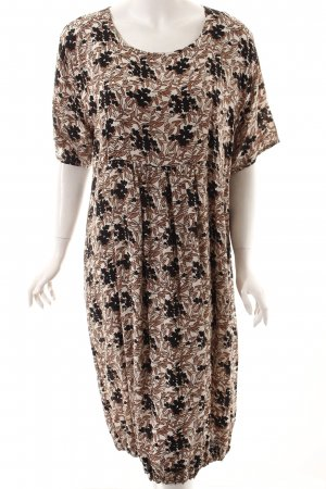 The Masai Clothing Company Kurzarmkleid florales Muster Casual-Look
