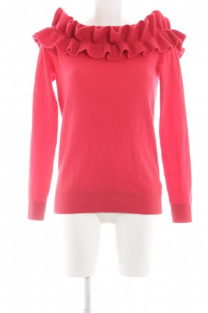 (The Mercer) NY Cashmere Jumper red casual look