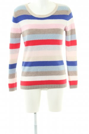 (The Mercer) NY Cashmere Jumper striped pattern casual look