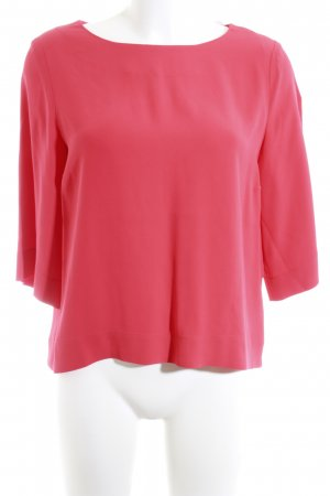 (The Mercer) NY Long Sleeve Blouse red business style